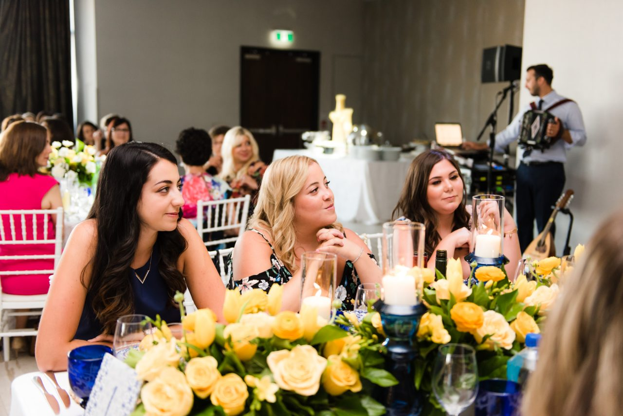 candid bridal shower photography captured by toronto bridal shower photographer