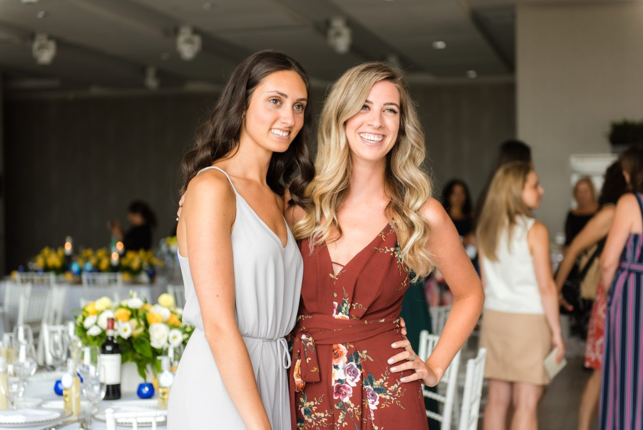 candid bridal shower photography
