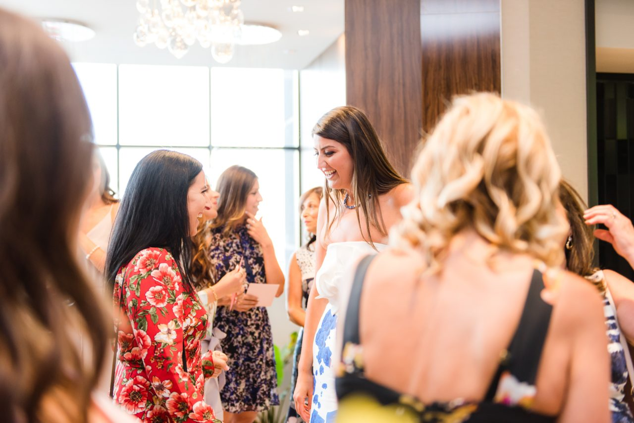 candid pictures taken by toronto bridal shower photographer