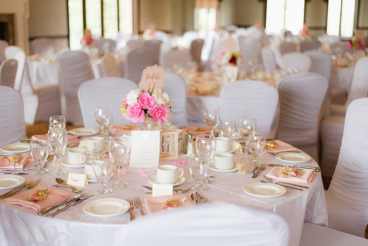 King Valley Golf Club Wedding Reception