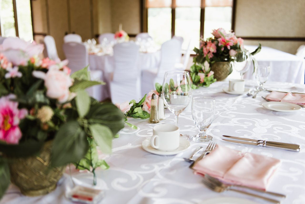 King Valley Golf Club Wedding Reception decor