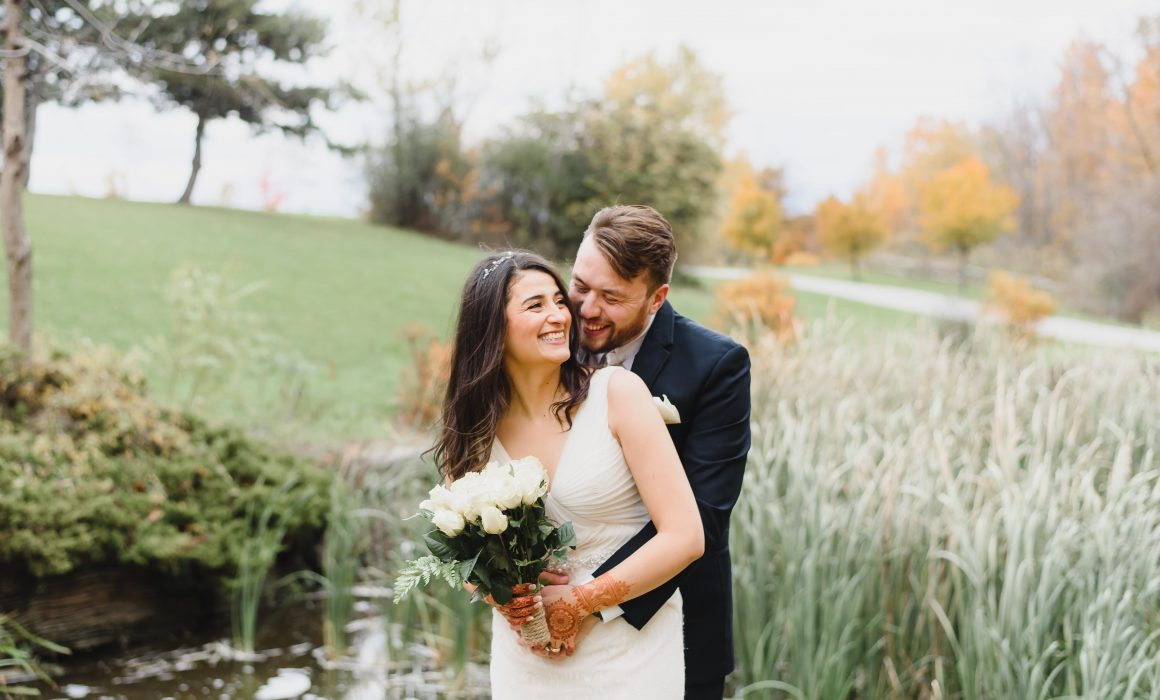 the best wedding fall picture taken in Toronto