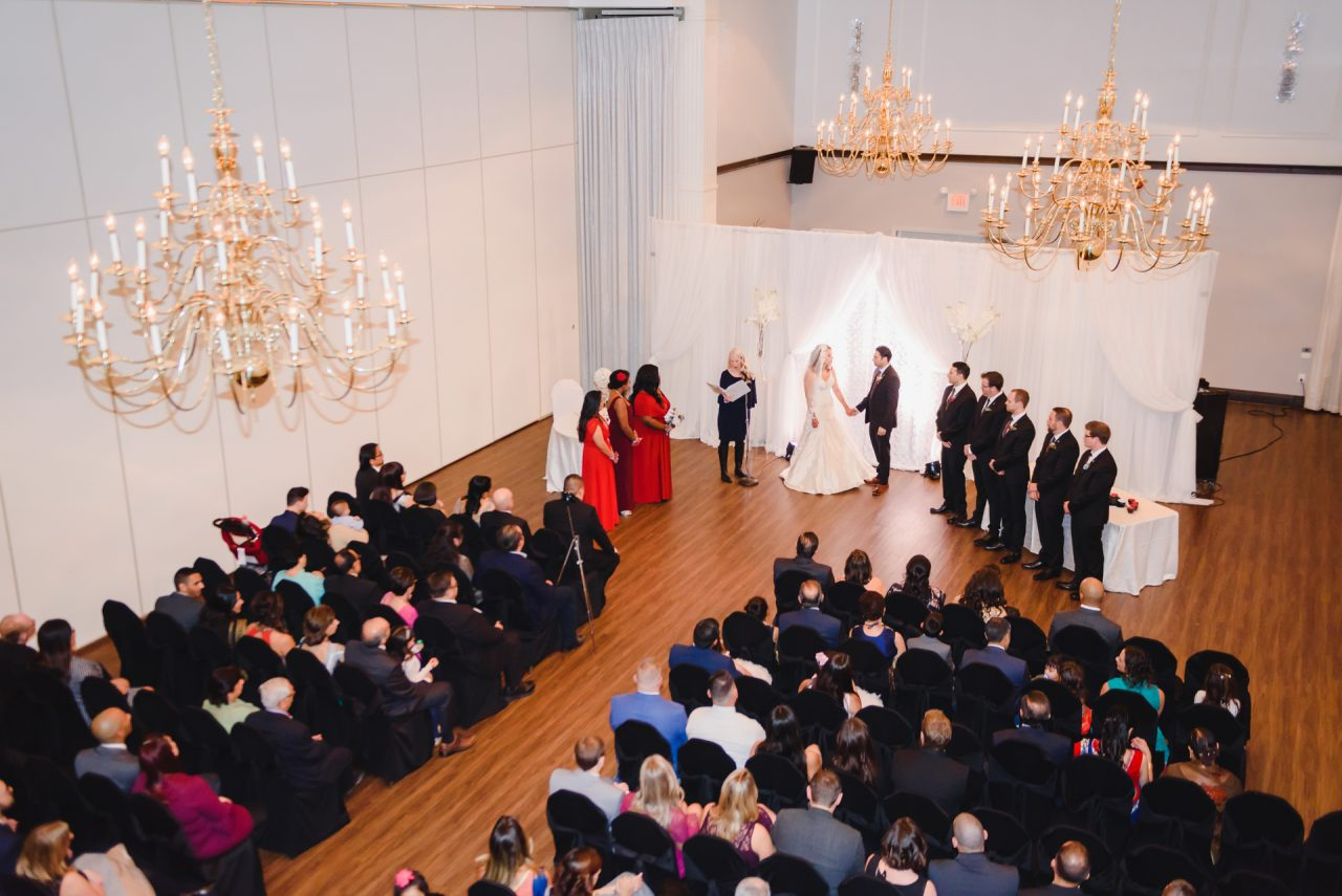 wedding ceremony, Hamilton, Ontario