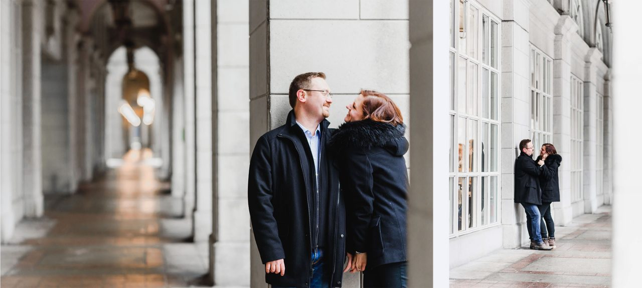 Espendale engagement photo shoot downtown Toronto