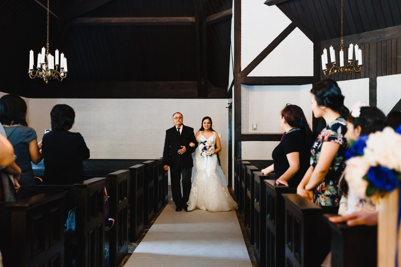 Old Mill Toronto Chapel Wedding