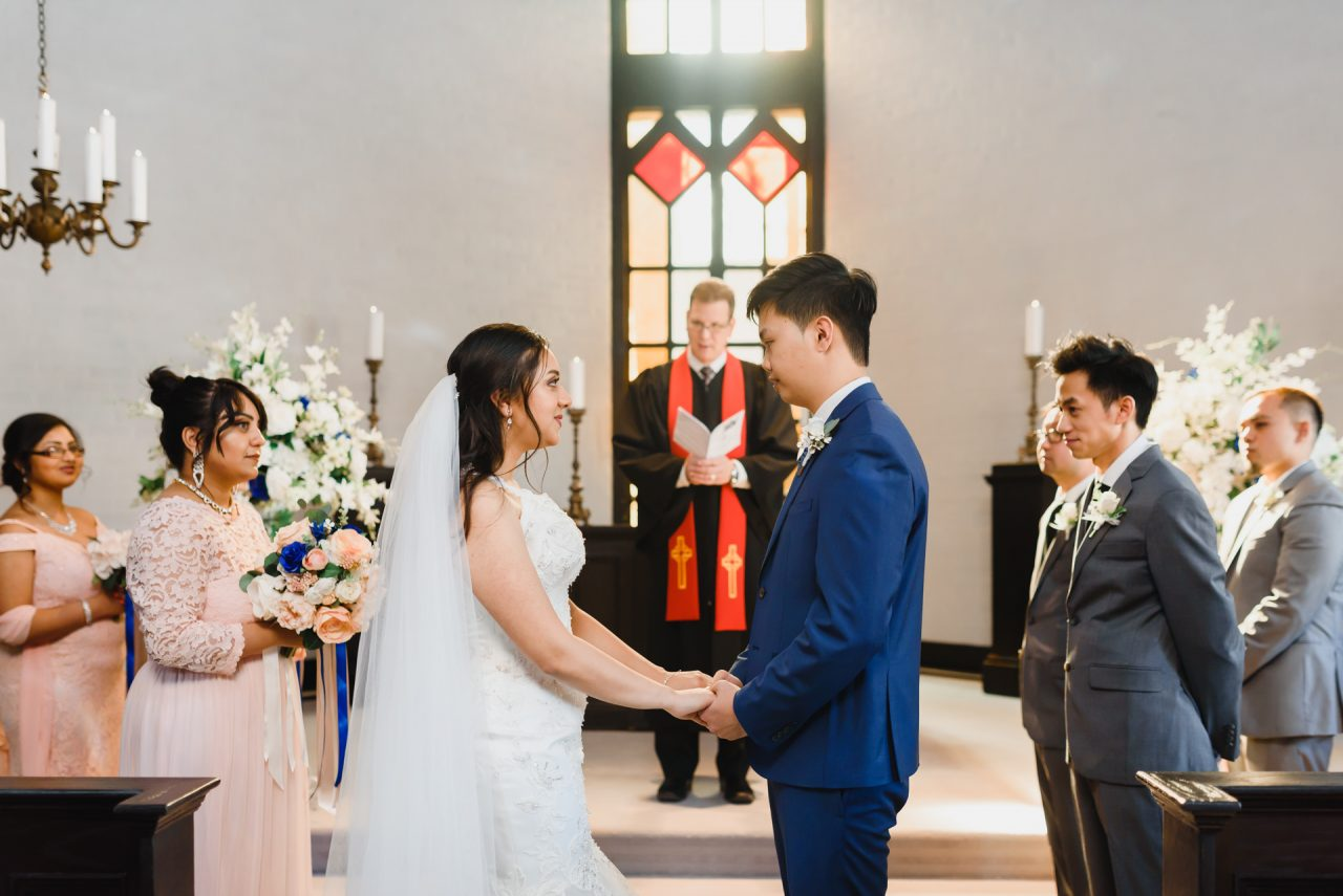 Old Mill Toronto Chapel wedding ceremony