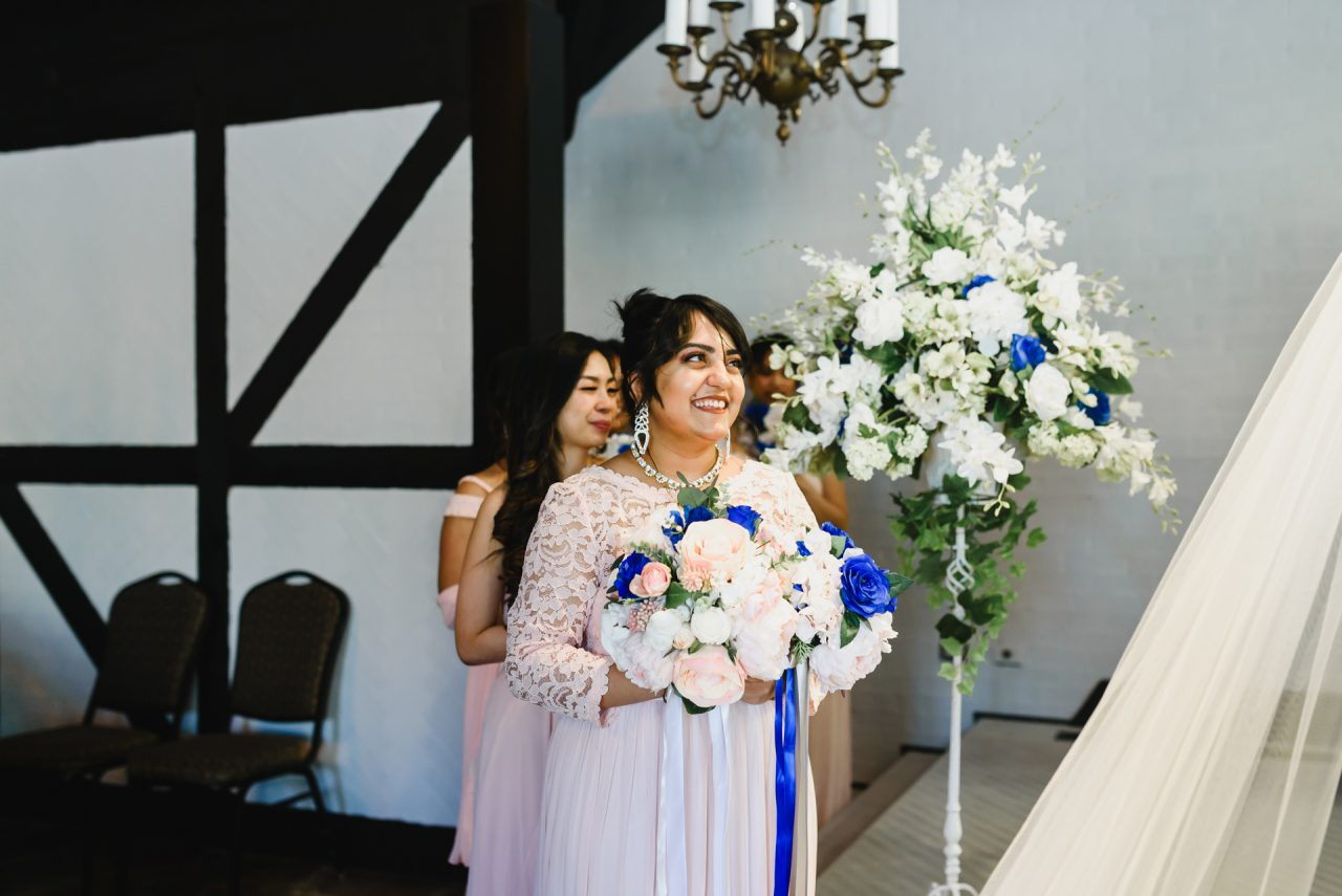 Old Mill Toronto wedding ceremony