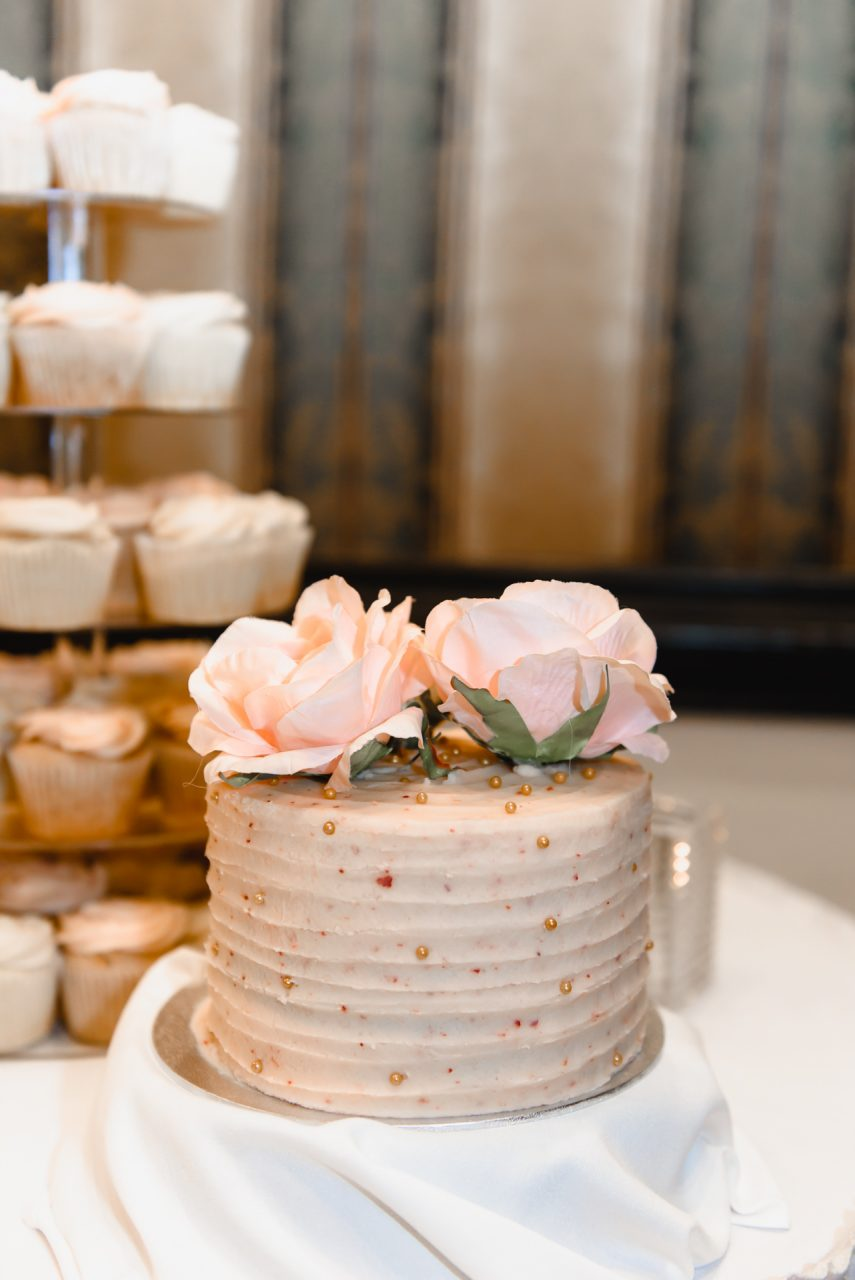 Old Mill Toronto Wedding sweet table and wedding cake