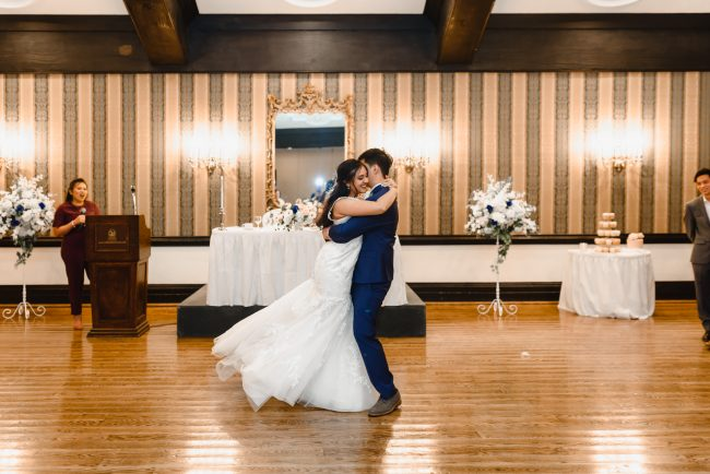 first dance picture Old Mill Toronto