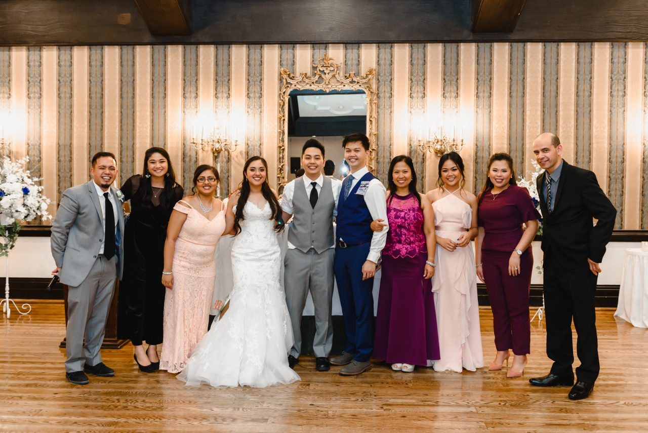 Old Mill Toronto wedding family photo