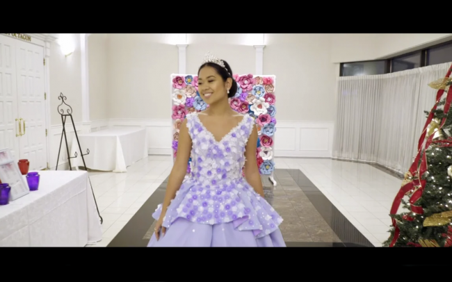Ayessa Debut 18th birthday highlight video Vaughan near Toronto