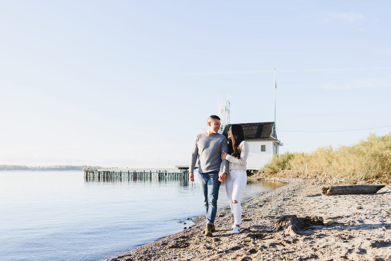 Cherry Beach Engagement Pictures