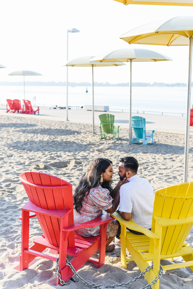 HTO beach engagement pictures