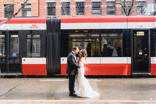 2nd floor Events Wedding and couple wedding photo shoot at King Street West