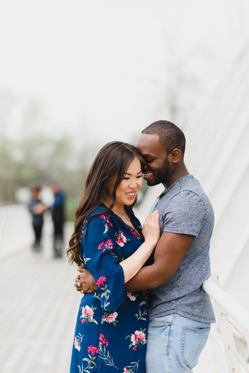 Humber Bay Park engagement photoshoot