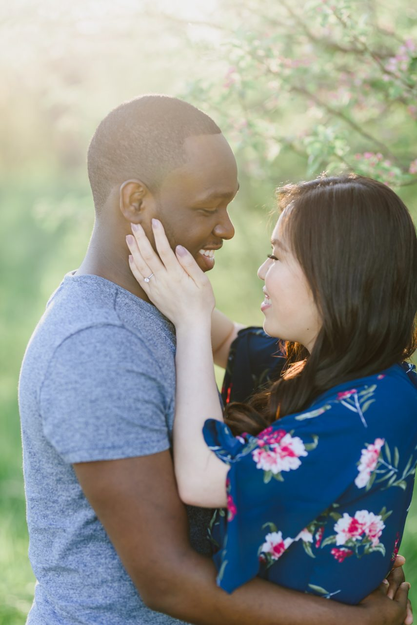 Humber Bay Park engagement pictures