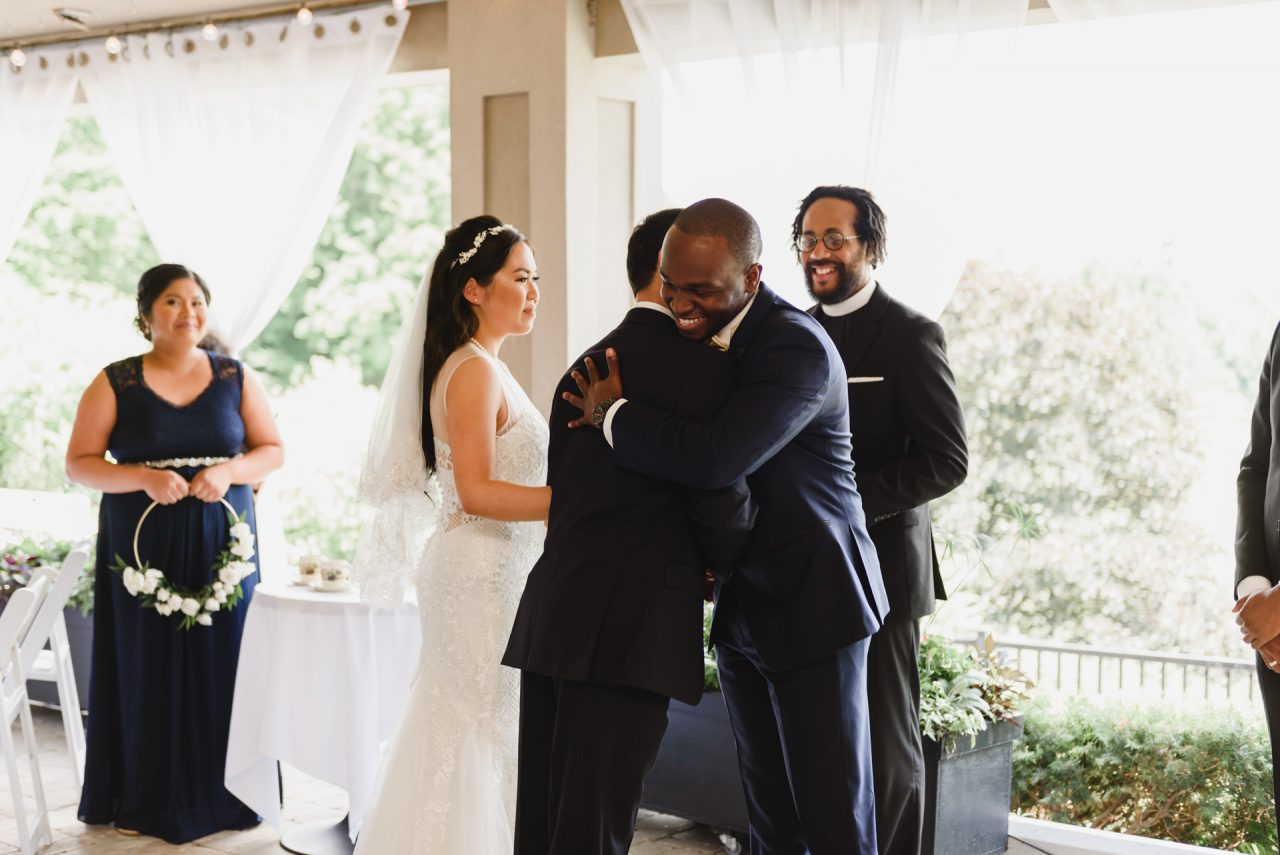 Bayview Golf and Country Club wedding ceremony