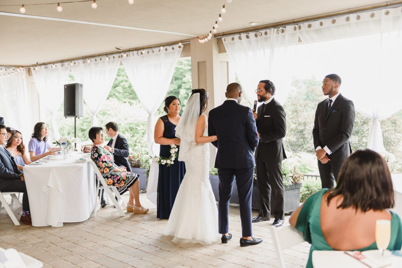 Toronto brunch wedding and ceremony at Bayview Golf and Country Club