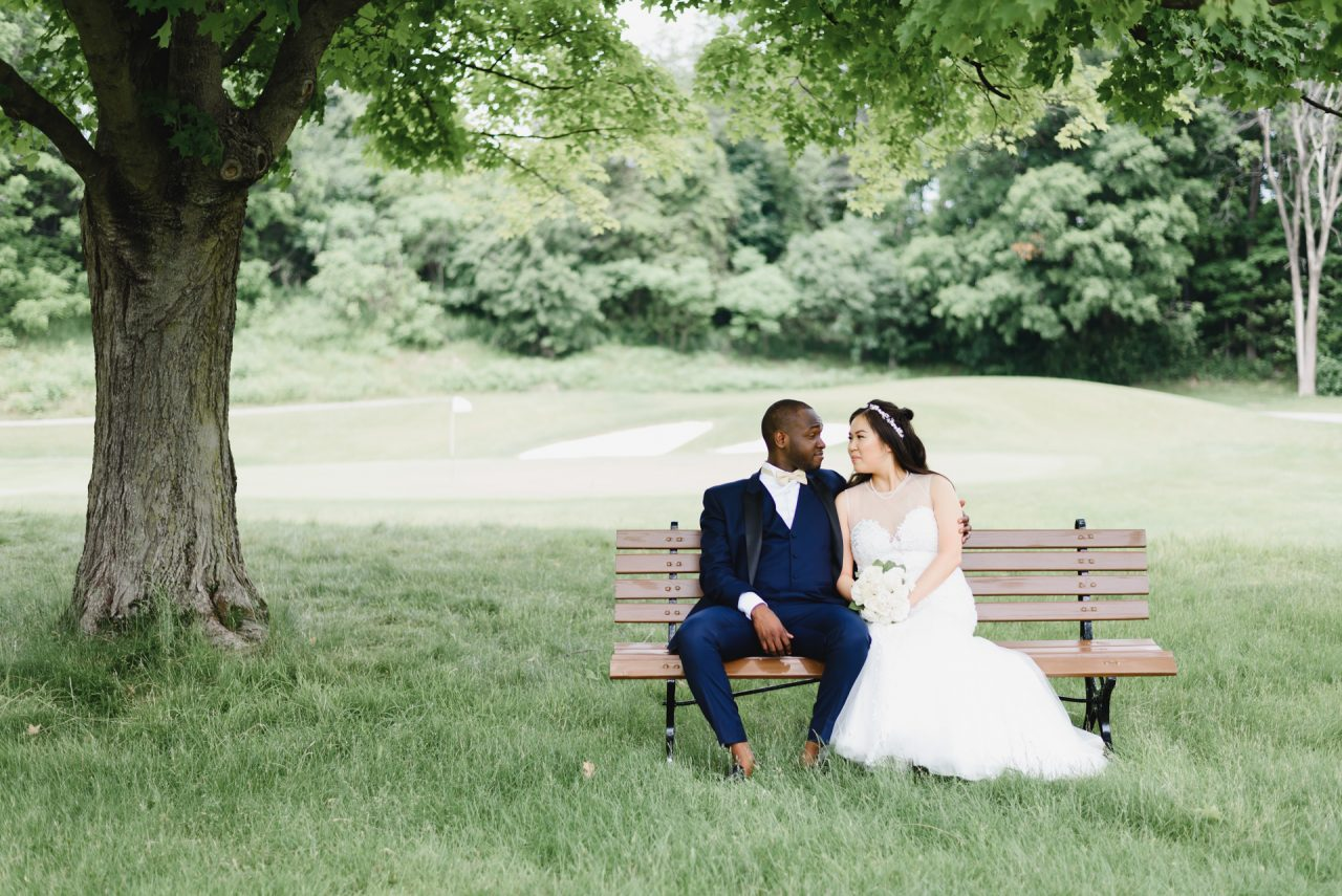 wedding at Bayview Golf and Country Club, Toronto