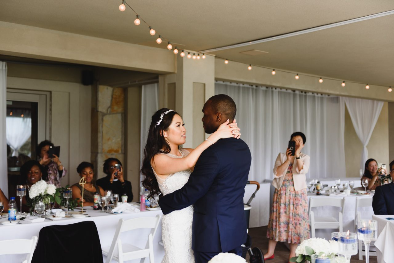Bayview Golf and Country Club wedding first dance