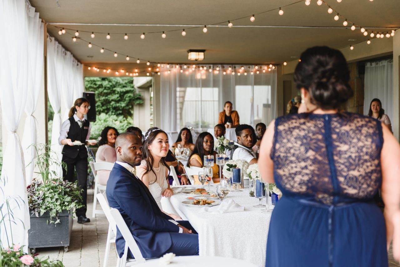 Toronto brunch wedding at Bayview Golf and Country Club in Toronto
