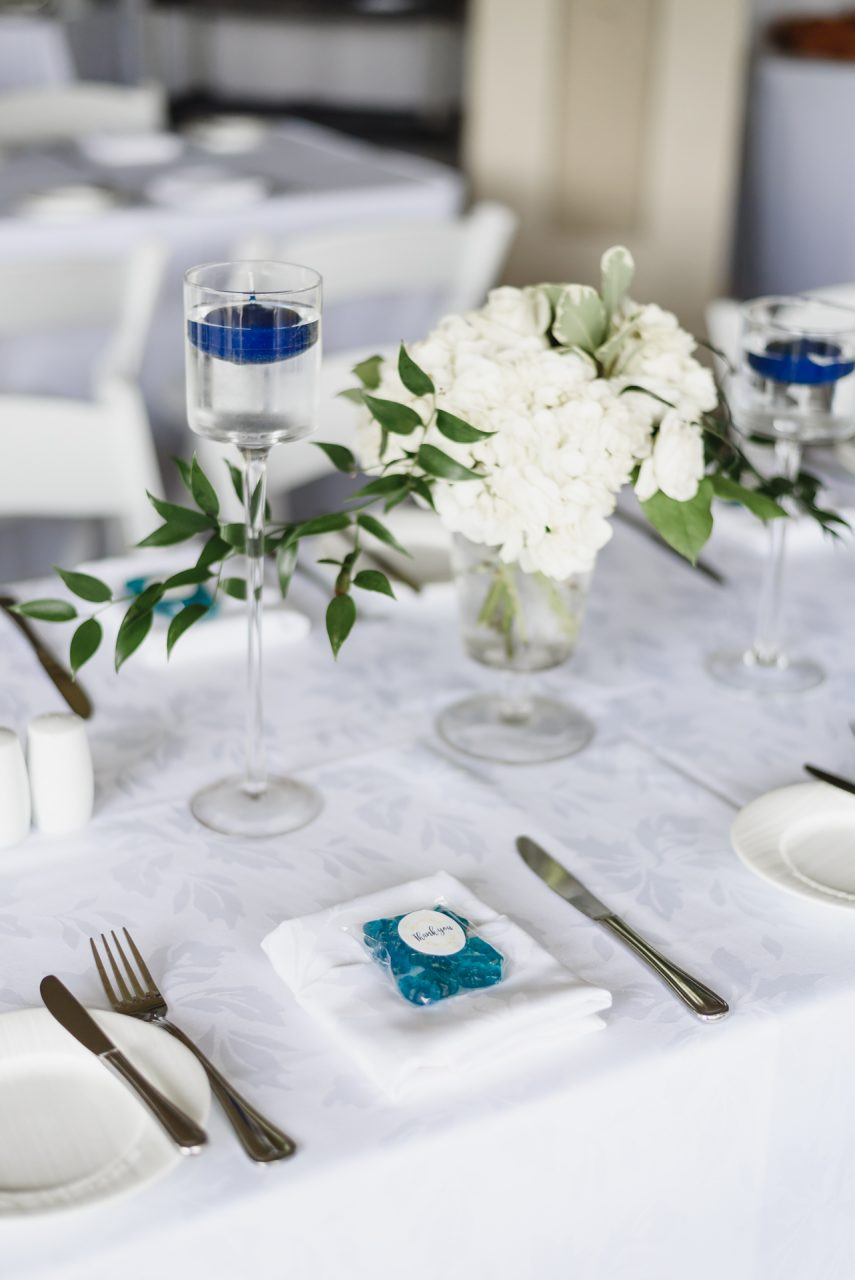 Bayview Golf and Country Club wedding decor