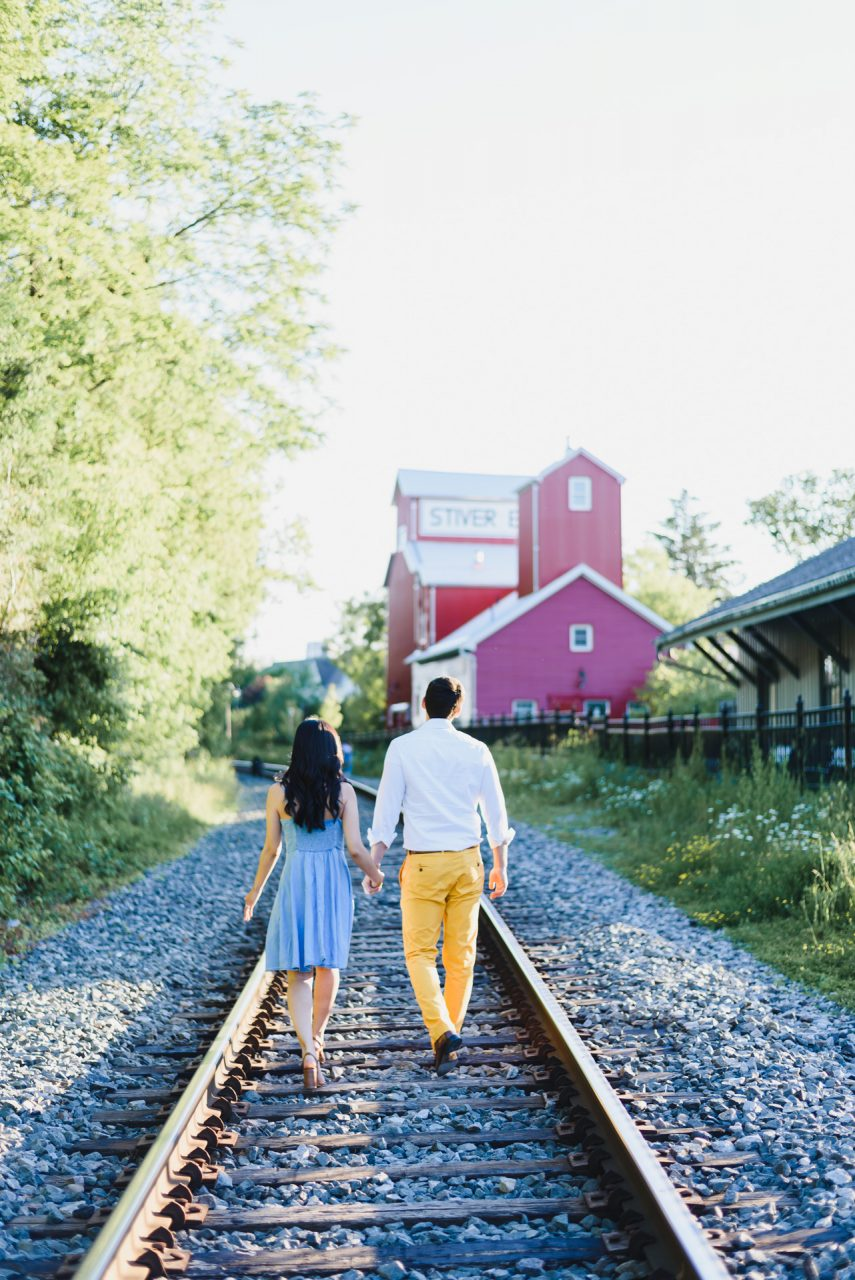 Unionville Markham engagement photo