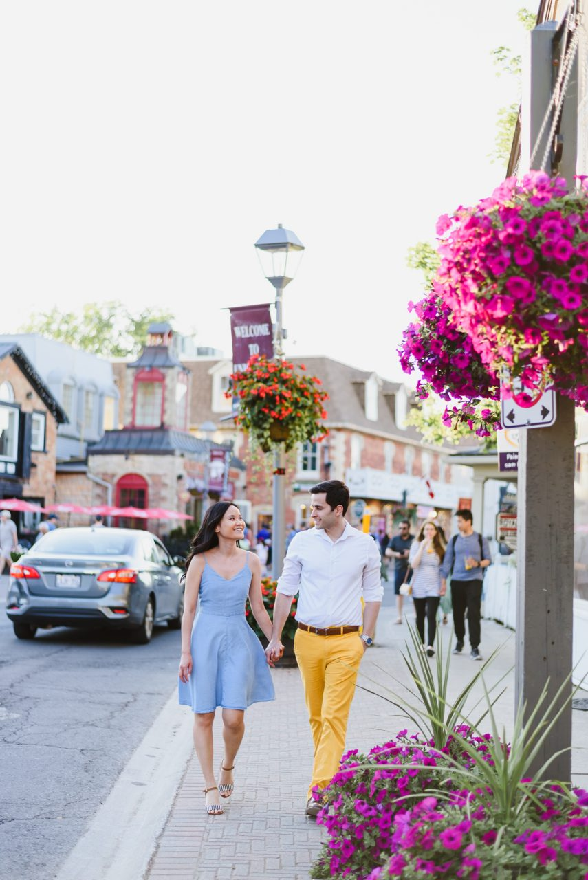 Unionville Markham engagement photo shoot