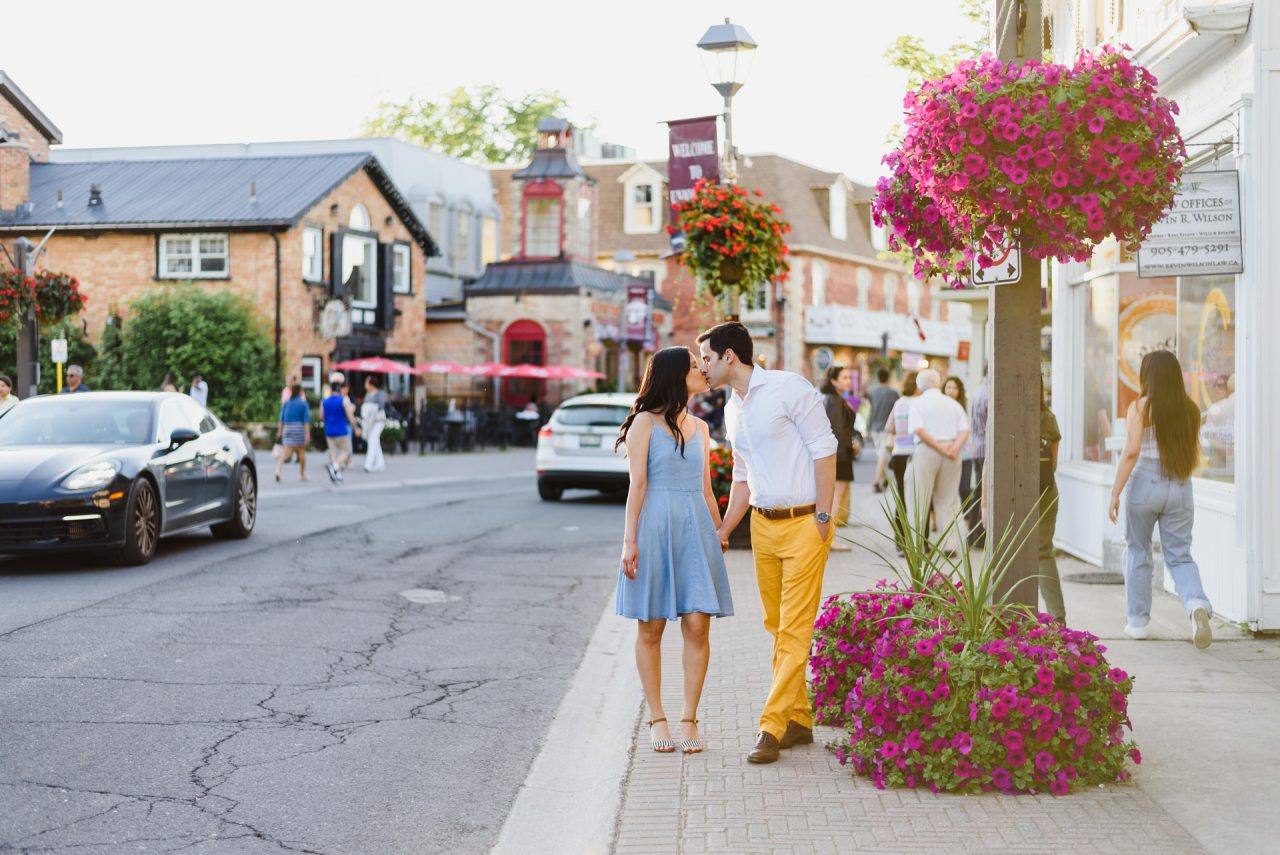 Unionville engagement picture