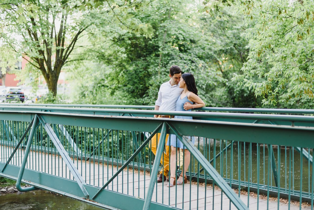 Unionville Markham engagement photos