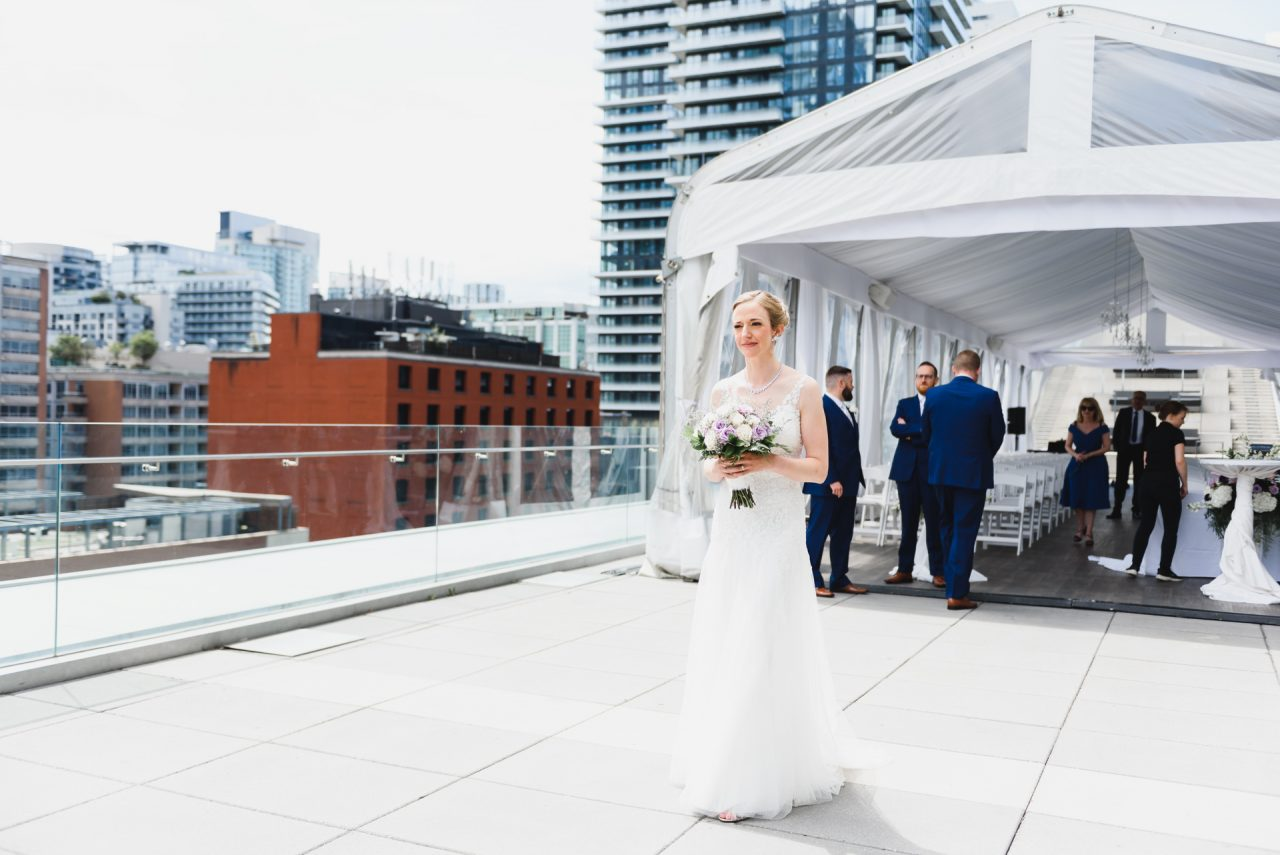 Malaparte Events wedding first look