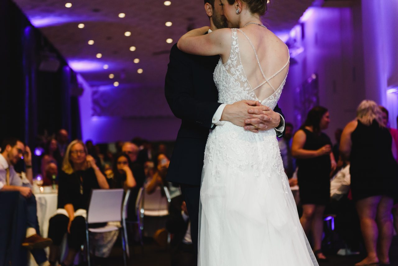 first dance at Malaparte Events, Toronto