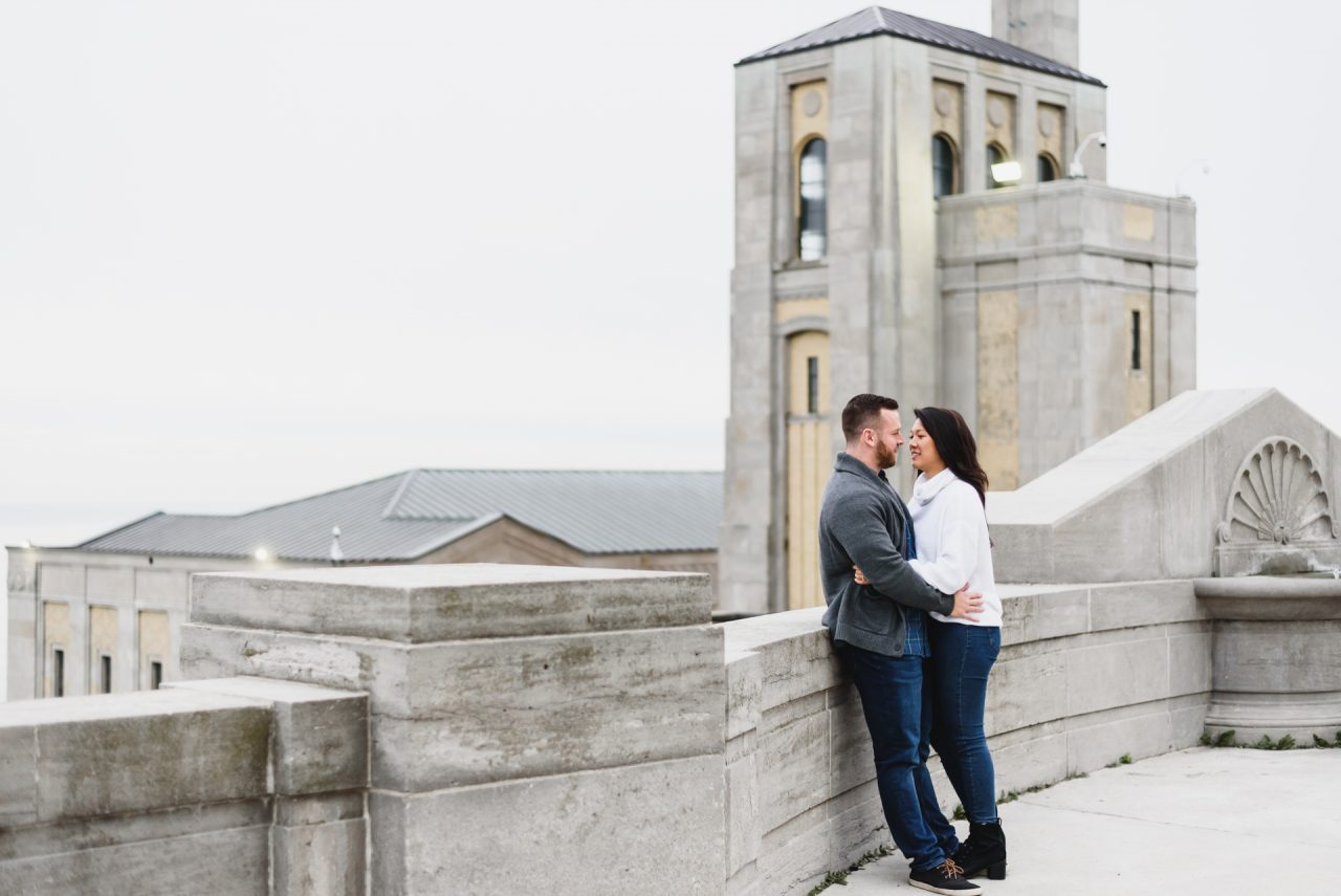 R.C. Harris Water Treatment Plant places to take engagement pictures