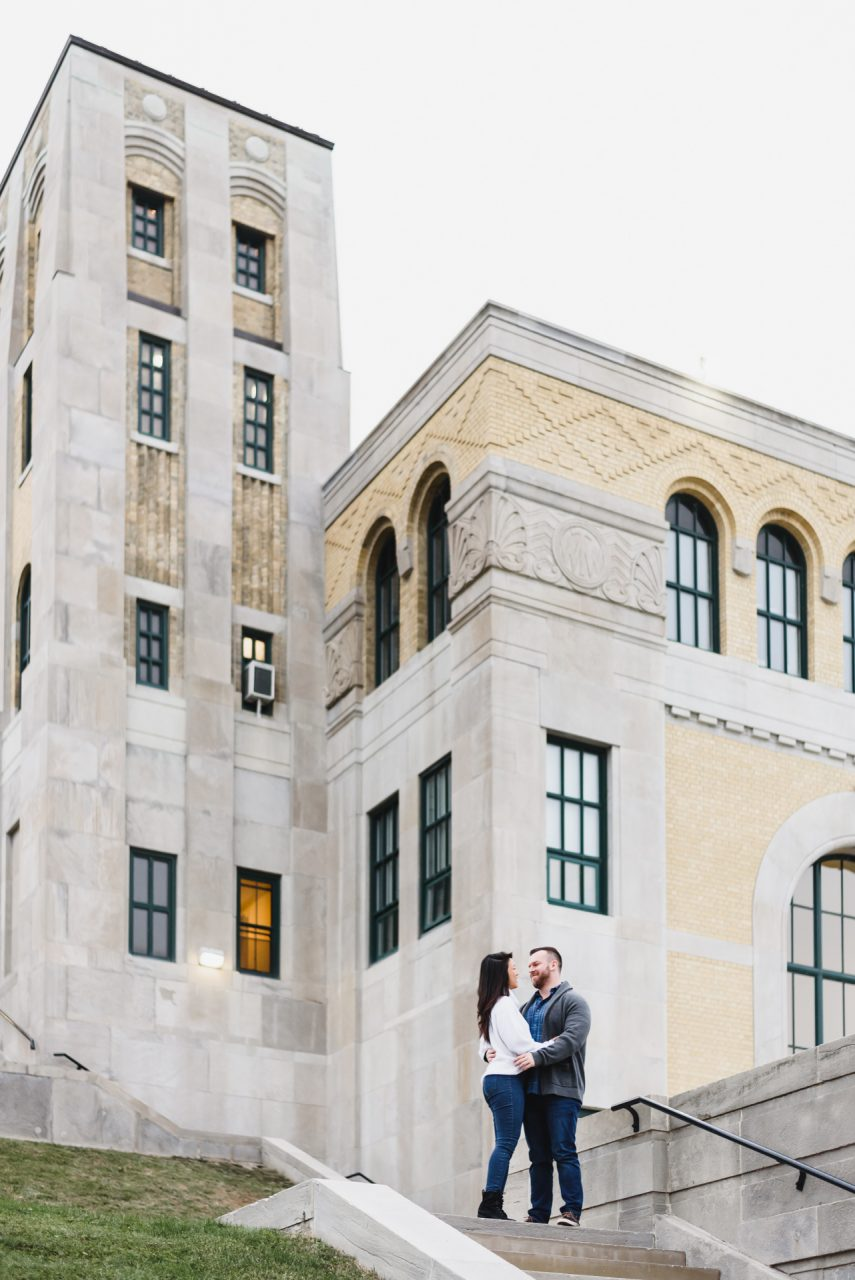 R.C. Harris Water Treatment Plant wedding photo session