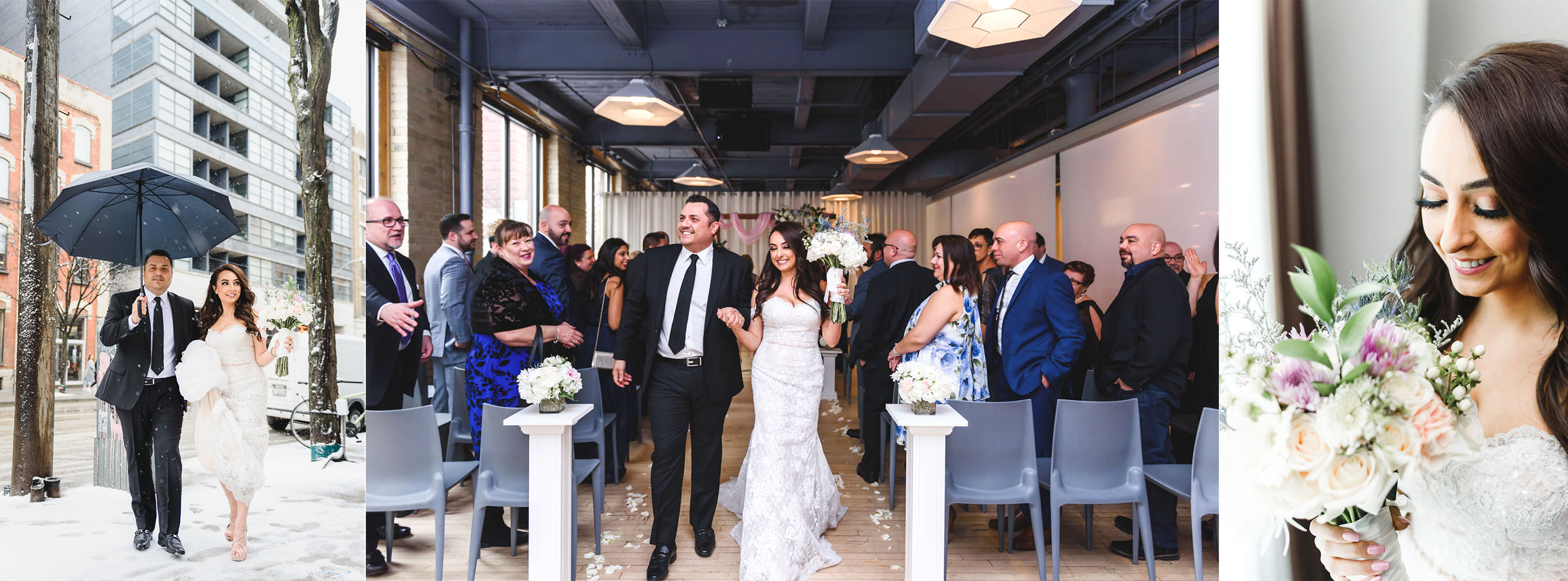 wedding at 2nd Floor Events in Toronto