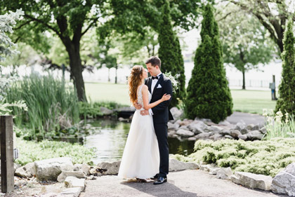 wedding photography taken at the Windsor waterfont