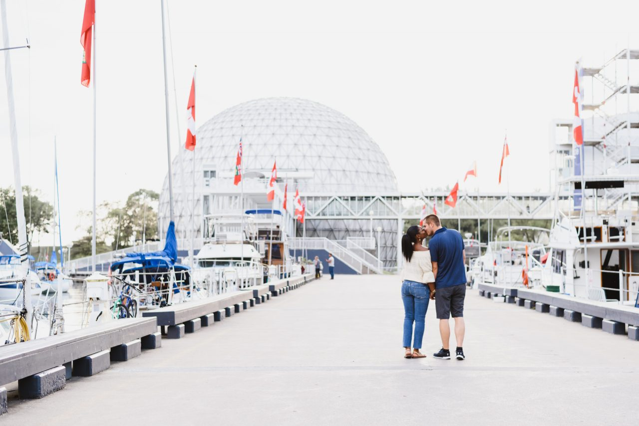 Ontario Place engagement pictures Toronto