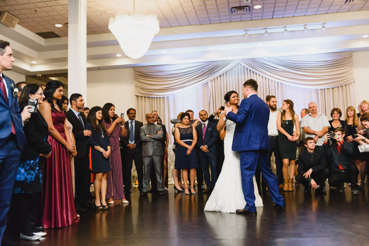 first dance at Mississauga Grand during wedding