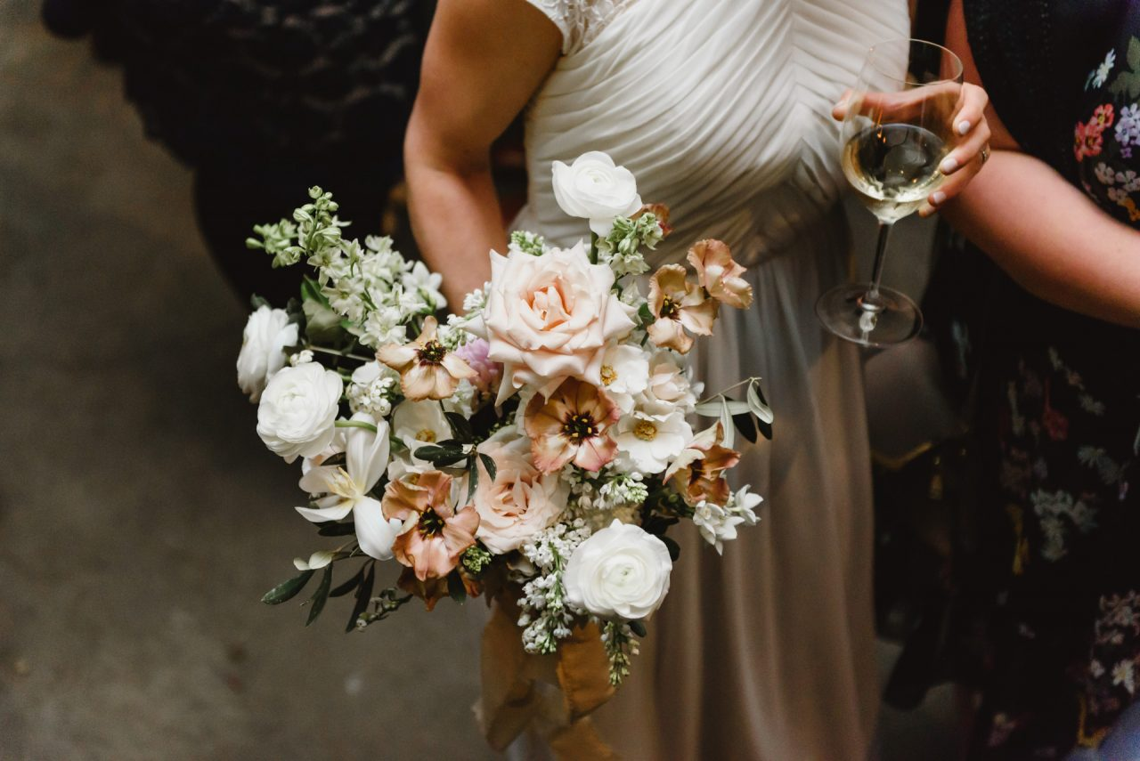 wedding bouquet from Hunt and Gather Floral
