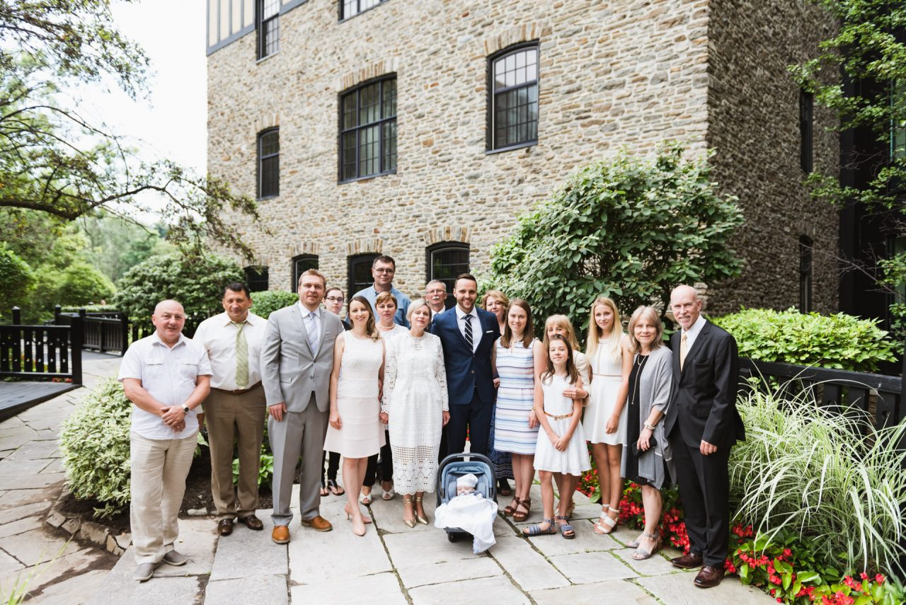 baptism photographer Toronto family pictures at Old Mill