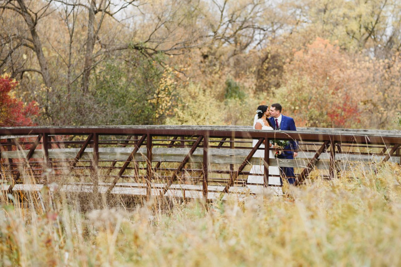 Bride and Groom photoshoot at the Humber Bay Park Toronto