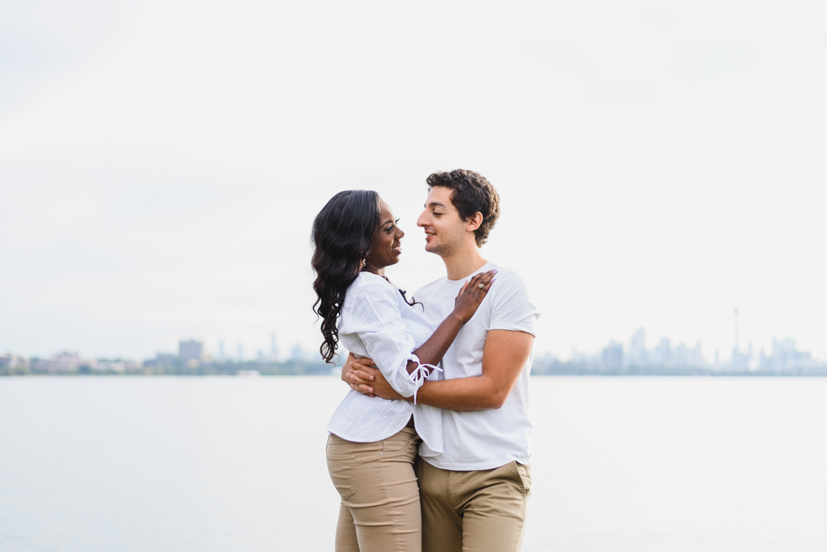 engagement pictures at Humber Bay Park in Toronto