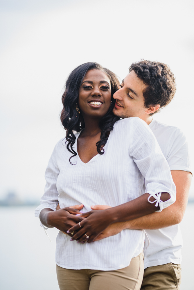 engagement photos at Humber Bay Park in Toronto