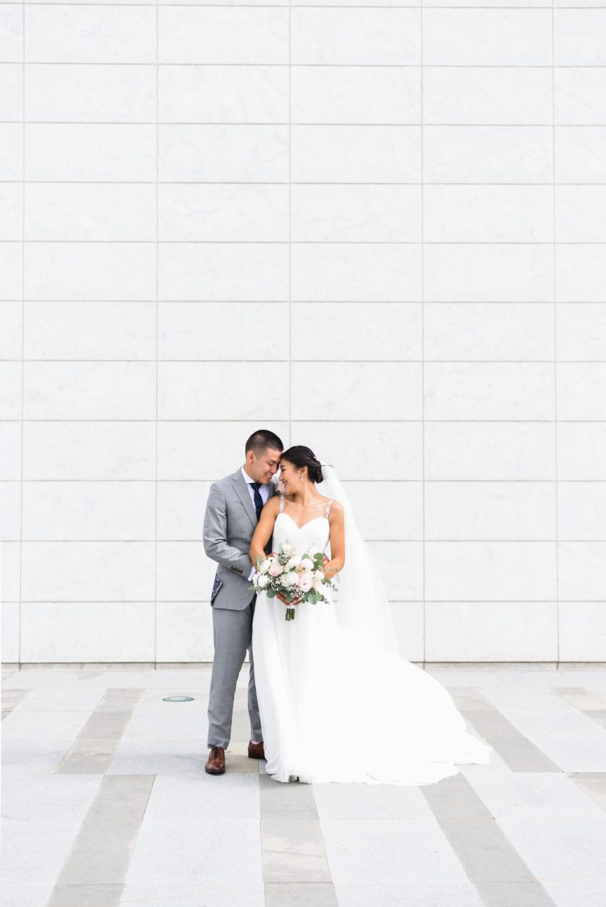 wedding pictures at Aga Khan Museum