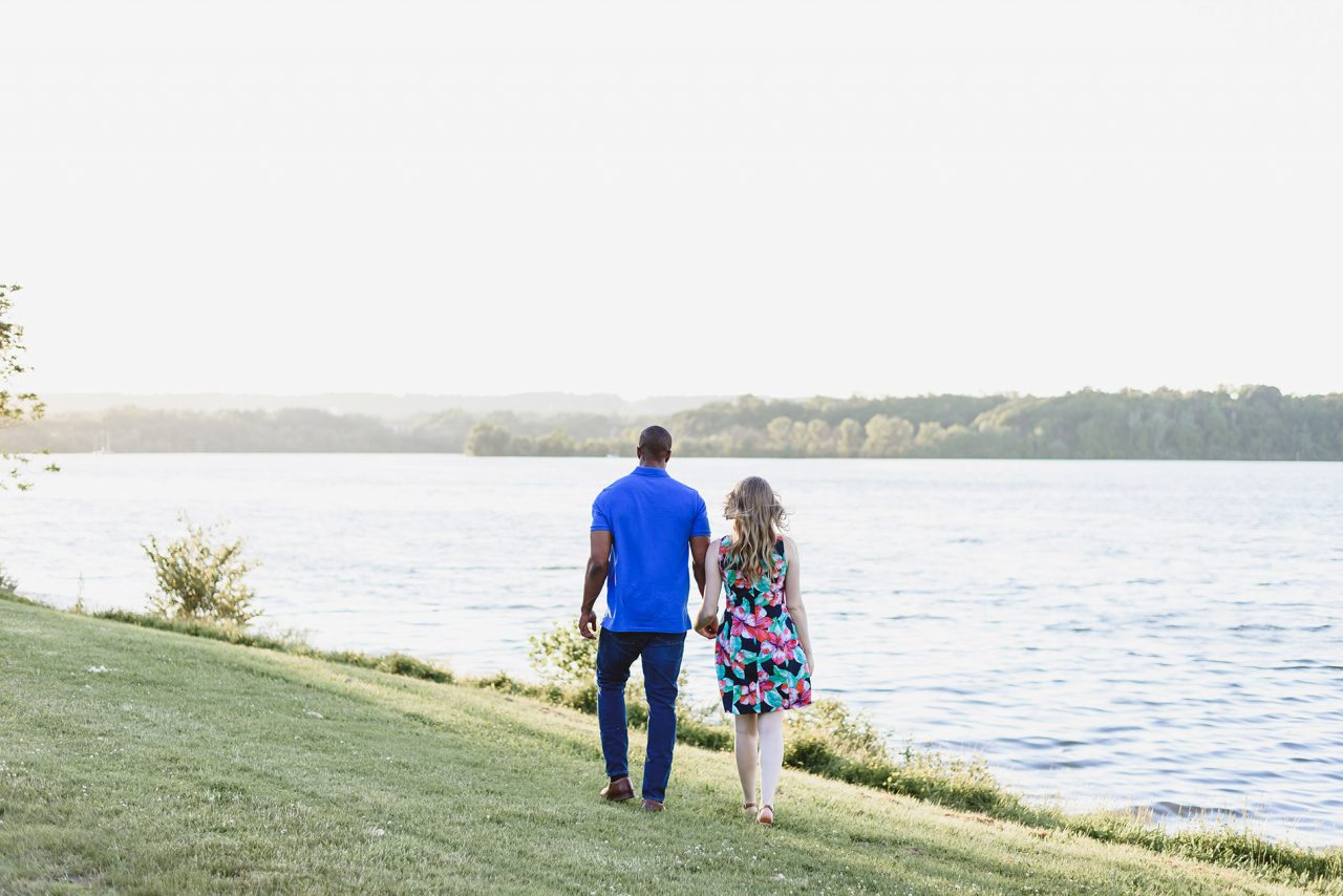 engagement photo session at Bayfront Park in Hamilton